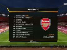 Arsenal Londyn 1:1 Slavia Praga