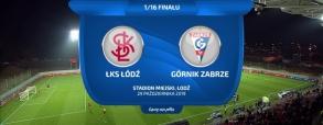 ŁKS Łódź 2:0 Górnik Zabrze