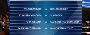 Znamy pary ćwierćfinałów Ligi Mistrzów!