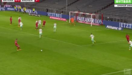 Bayern Monachium 1:1 Werder Brema [Filmik]