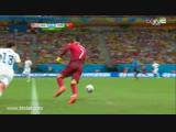 Wspaniały drybling Cristiano Ronaldo w meczu z USA