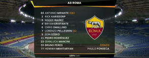AS Roma 3:2 Manchester United