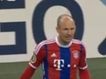 Bayern Monachium 2:0 Eintracht Brunszwik