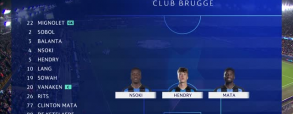 Club Brugge 1:1 PSG