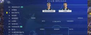 Club Brugge 1:5 Manchester City