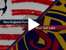 New England Revolution 4:0 Real Salt Lake