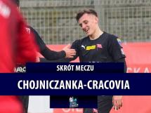 Chojniczanka Chojnice 0:3 Cracovia Kraków