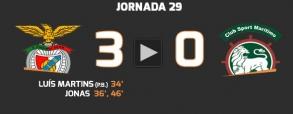 Benfica Lizbona 3:0 Maritimo Funchal