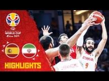 Hiszpania 73:65 Iran