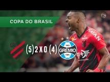 Atletico Paranaense 2:0 Gremio
