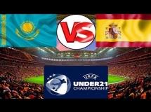 Kazachstan U21 0:1 Hiszpania U21