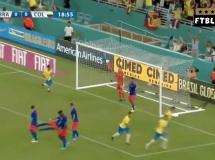 Brazylia 2:2 Kolumbia