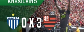 Avai FC 0:3 Flamengo