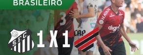 Santos 1:1 Atletico Paranaense