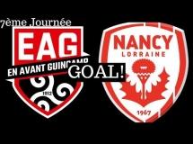 Guingamp 1:3 Nancy