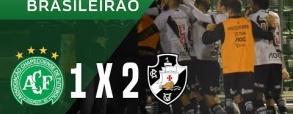 Chapecoense 1:2 Vasco da Gama