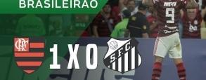 Flamengo 1:0 Santos