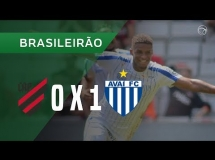 Atletico Paranaense 0:1 Avai FC