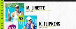 Magda Linette 2:0 Kirsten Flipkens