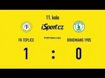 Teplice 1:0 Bohemians