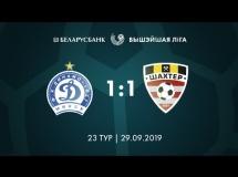 Dynamo Mińsk 1:1 Soligorsk