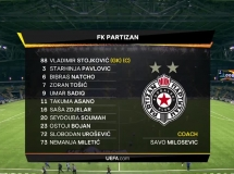 FC Astana 1:2 Partizan Belgrad