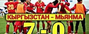 Kirgistan 7:0 Birma