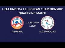 Armenia U21 1:3 Luksemburg U21