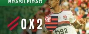 Atletico Paranaense 0:2 Flamengo