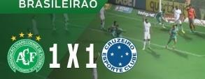 Chapecoense 1:1 Cruzeiro