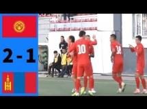 Mongolia 3:0 Kirgistan