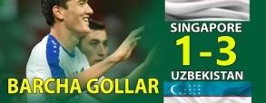 Singapur 1:3 Uzbekistan