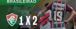 Fluminense 1:2 Atletico Paranaense