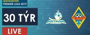 FC Astana 3:1 Kajrat Almaty