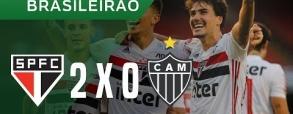 Sao Paulo 2:0 Atletico Mineiro