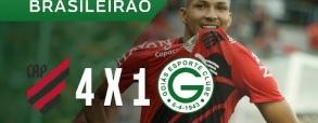 Atletico Paranaense 4:1 Goias