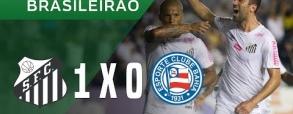 Santos 1:0 Bahia