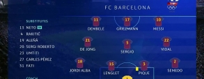 FC Barcelona 0:0 Slavia Praga