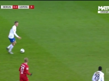 Hertha Berlin 2:4 RB Lipsk