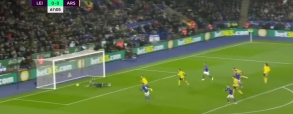 Leicester City 2:0 Arsenal Londyn