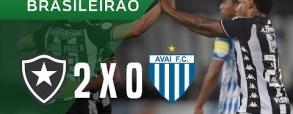 Botafogo 2:0 Avai FC
