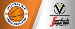 Maccabi Rishon 82:72 Virtus Bologna