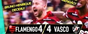 Flamengo 4:4 Vasco da Gama