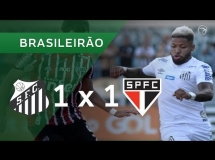Santos 1:1 Sao Paulo