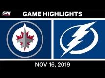 Tampa Bay Lightning 3:4 Winnipeg Jets