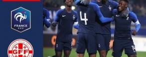 Francja U21 3:2 Gruzja U21