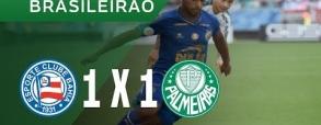 Bahia 1:1 Palmeiras