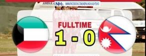 Nepal 0:1 Kuwejt
