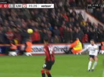 AFC Bournemouth 0:3 Liverpool