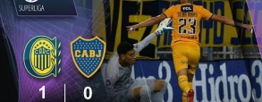 Rosario Central 1:0 Boca Juniors